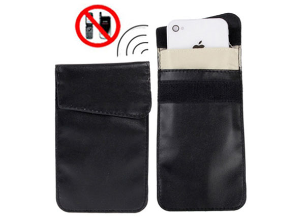 Cell phone holster jammer