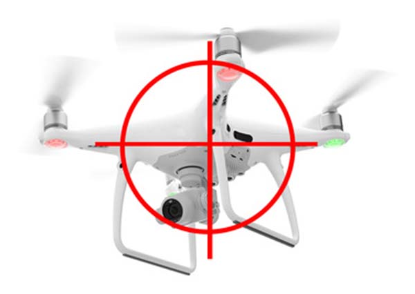 jamming device for drones