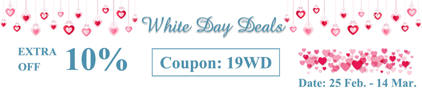 White Day Deals 2019