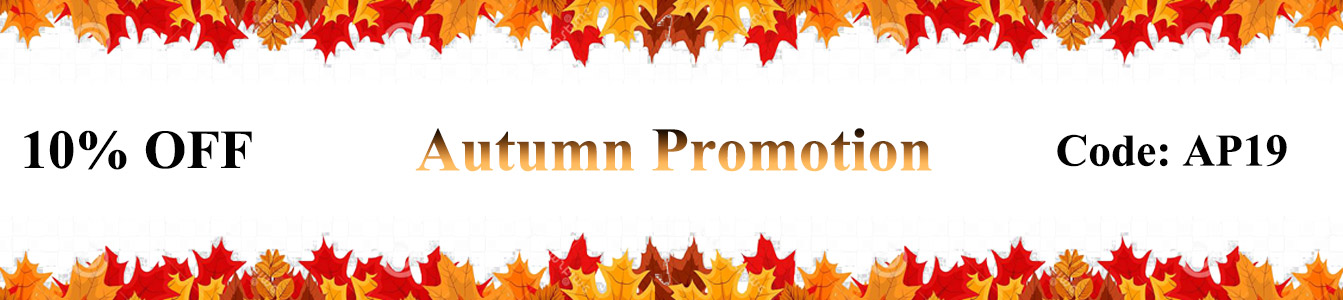 Autumn Promotion Deals 2019