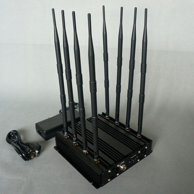 Camera blocker app , 8 Bands Large Range Drone RF Jammer 2.4G GPS 5.8G
