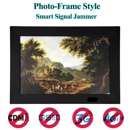 Photo Frame Type 7 Bands Hidden Mobile Phone Singal Jammer 2G 3G 4G