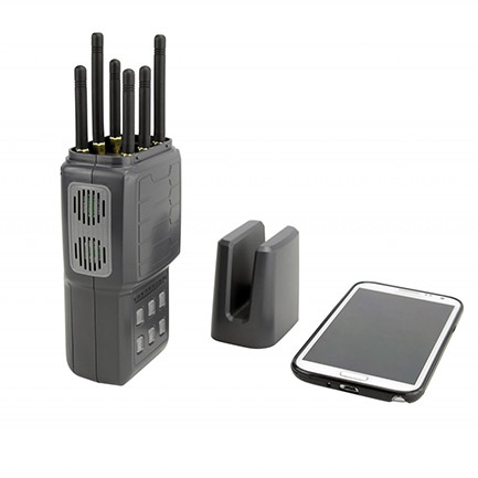 Cheapest cell phone jammer | Easy Operation Handheld Signal Jammer 30dBm Average Output Power VBE-6H
