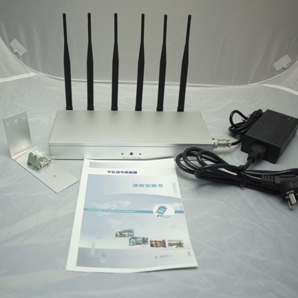 Wifi blocker doveton , Desktop 6 Bands Cell Phone Signal UHF VHF Jammer