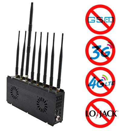 mobile phone jammer Bridgeport , High Heat Dissipation Performance Desktop Jamming Device