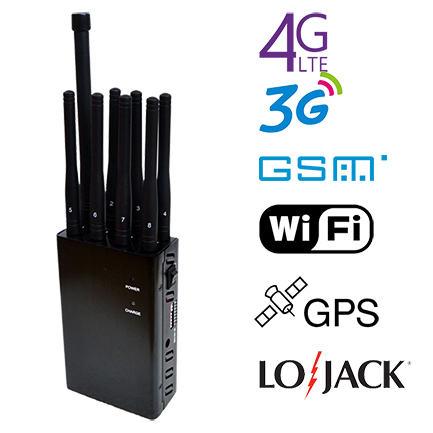 8 Bands Portable Jammer