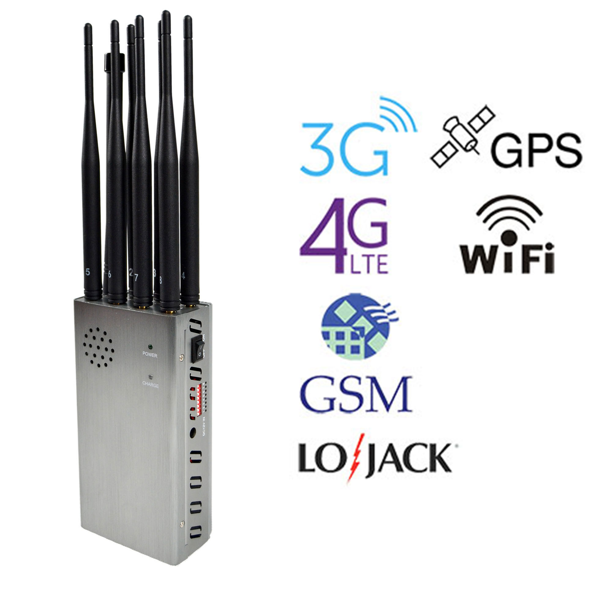8 Bands GPS Signal Blocker