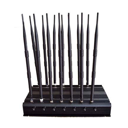 High power 14 bands desktop jammer