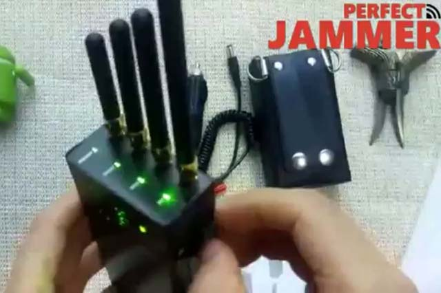 Handheld 4 Bands GSM Jammers