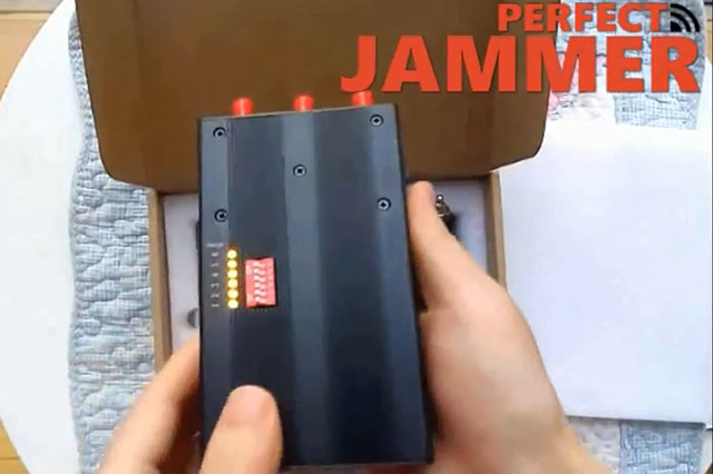 How to use 6 bands jammer