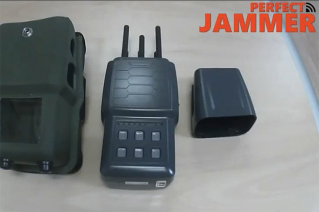 Military Hidden 6 Bands Cell Phone 3G 4G GPS WiFi Jammer 5W